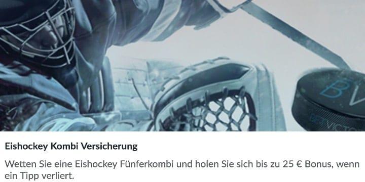 BetVictor - Die Eishockey Kombi Versicherung